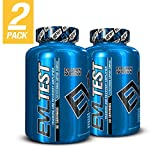 Evlution Nutrition Testosterone Booster Powder EVL Test Training & Recovery Amplifier* Supports Natural Testosterone Levels, Muscular Strength, Stamina & Optimal Sleep (30 Servings 2-Pack)