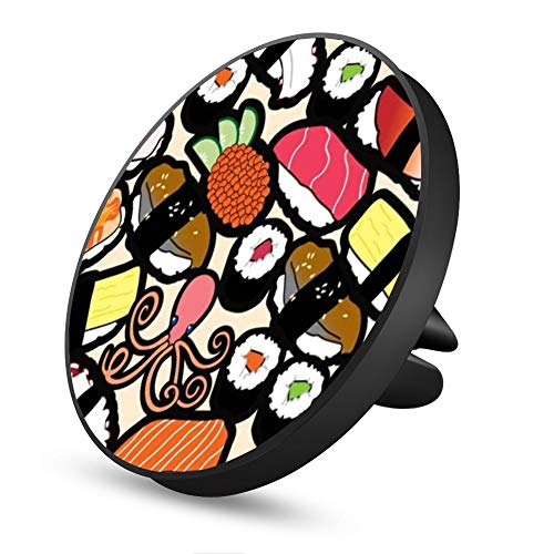 Octopus Sushi Magnetic Mount, Air Vent Magnetic Car Mount Phone Holder, for Cell Phones and Mini Tablets with Fast Swift-Snap Technology]()