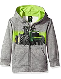 Boys' Fleece Hoody Zip Front Poly