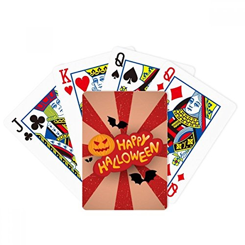 DIYthinker Cartoon Halloween Fonts Poker Playing Cards Tabletop Game -