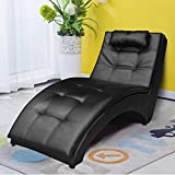 chaise lounge for living room. Cloud Mountain Leisure Chaise Lounge Couch Sofa Chair Living Room Furniture  Amazon com