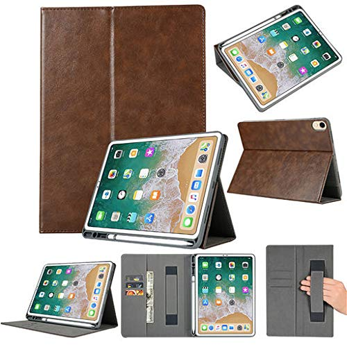 Easter's Best Gift !!! Cathy Clara for iPad Pro 11 2018 Folio Leather Wallet Card Stand Case Cover with Pencil Holder Tablet Computer Accessories from Cathy Clara_Tablet