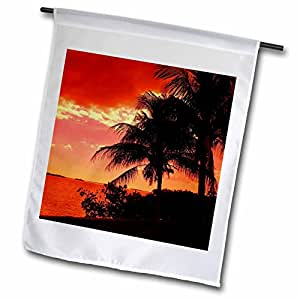 Florene Tropical Sunset – River Runs rojo – banderas