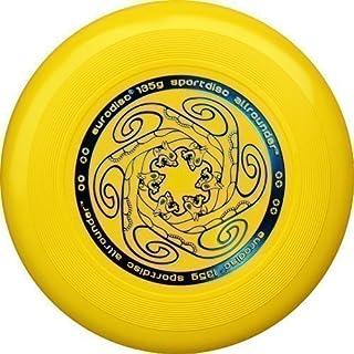 Eurodisc - Frisbee per Ragazzi e Bambini, Giallo, 135 g New Games - Frisbeesport