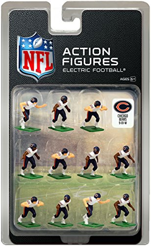 - Chicago Bears Away Jersey NFL Action Figure Set