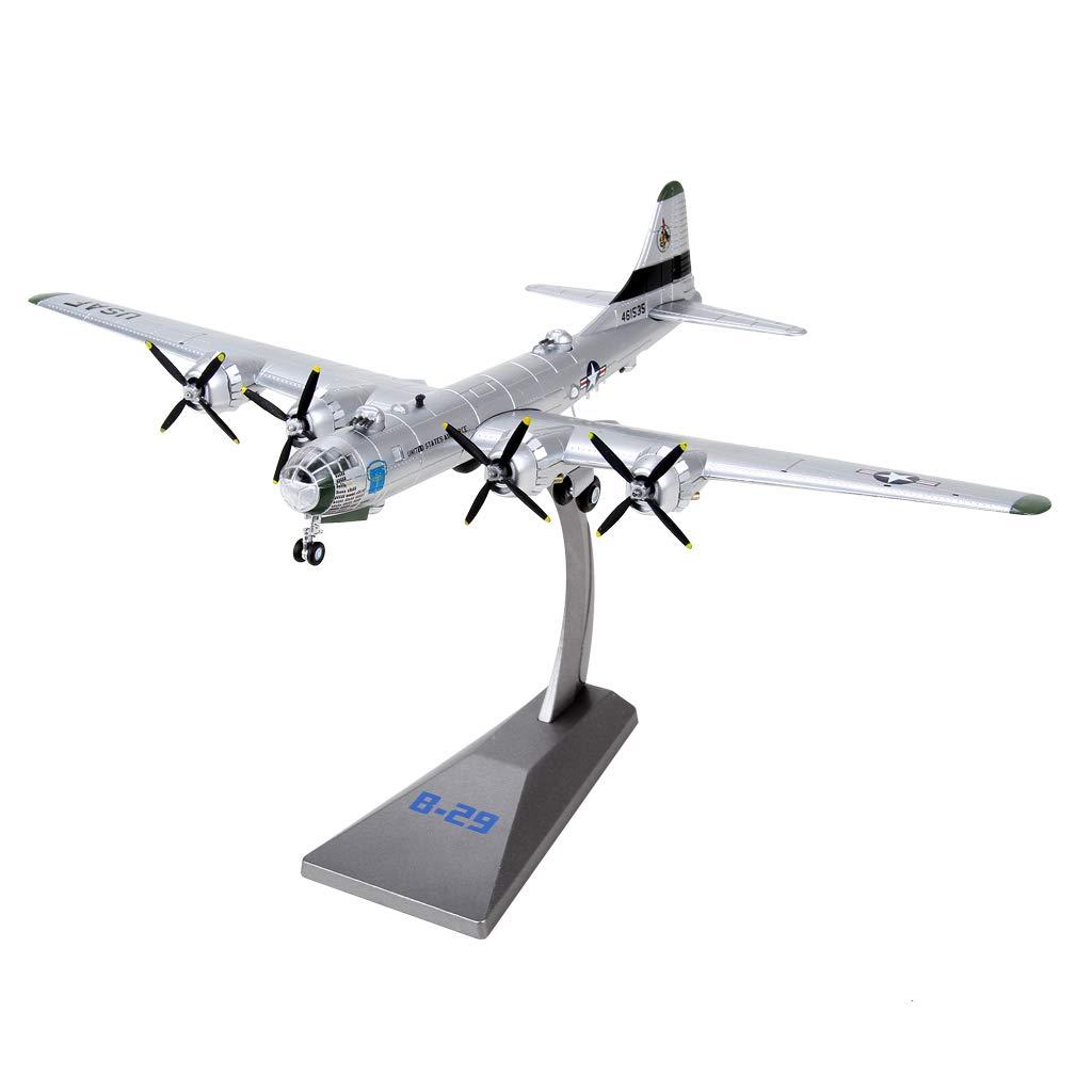 Bancone Ufficio sharprepublic 1//144 B-29 Bombardiere di Aeroplano Modelli di Giocattoli Militari Decorazione per Casa