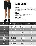 Roadbox Men's 5 Inch Running Athletic Quick Dry