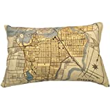 City of Ottawa Vintage Map Pillow