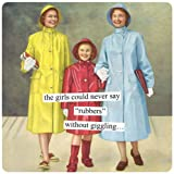 Anne Taintor Square Magnet, Rubbers