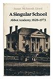A Singular School, Susan M. Lloyd, 0874511615