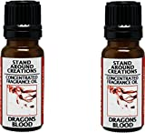 Stand Around Creations Set of 2 - Dragons Blood Concentrated Fragrance Oil .33-oz./Each