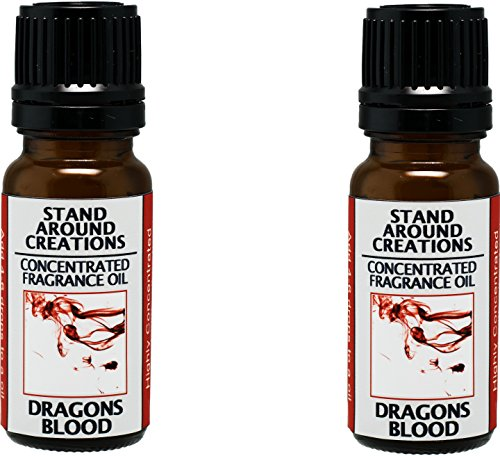 - Stand Around Creations Set of 2 - Dragons Blood Concentrated Fragrance Oil .33-oz./Each