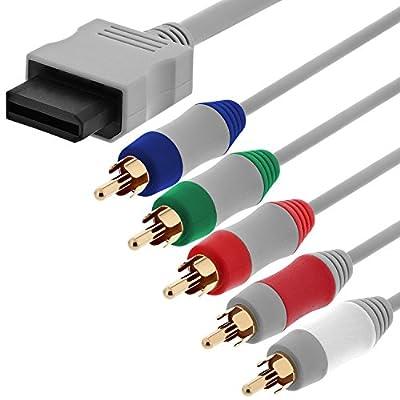 Fosmon C-1036-HDAV Component HD AV Cable to HDTV/EDTV for Nintendo Wii & Wii U