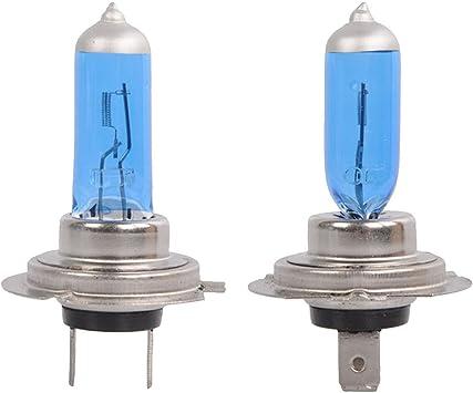 2x Bright H7 55W 12V 6000K Xenon Gas Halogen Headlight White Light Lamp Bulbs