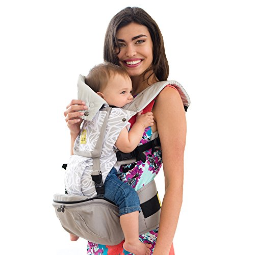 LILLEbaby SeatMe Hip Seat Baby Carrier - Frosted Rose by Lillebaby