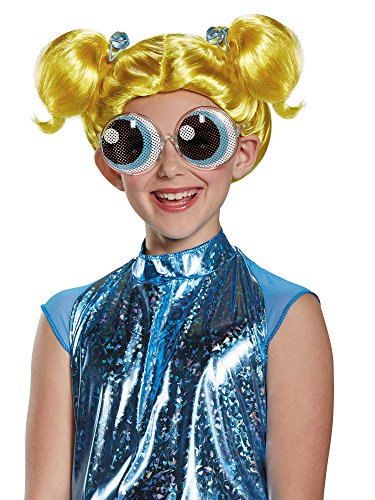 Bubbles Powerpuff Girls Wig, One Size Child