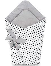 Mantita para bebés recién nacidos, hecha con algodón suave al 100 % y en forma vertical