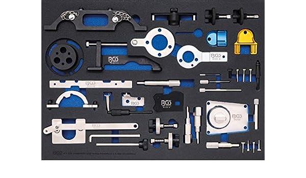 BGS 4138 | Bandeja para carro 3/3: Juego de calado de distribución | para Opel, Chevrolet, Saab, Fiat, Lancia, Suzuki, Ford: Amazon.es: Coche y moto