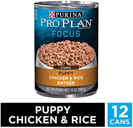 Dog Food: Purina Pro Plan Focus Puppy Cans