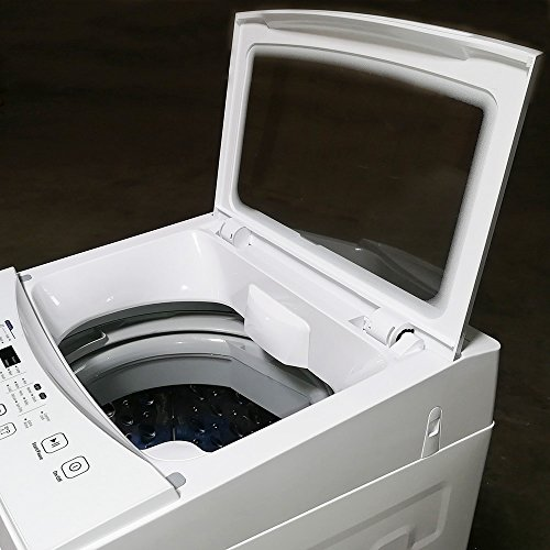 Panda Compact Washer 1.60cu.ft, High-End Fully Automatic Portable Washing Machine, white