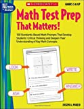 Math Test Prep That Matters!, Joseph A. Porzio, 0439597234