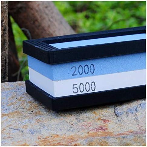 Aqiong KAERMA Professionelle Küche Außenmesserschleifer Korund Whetstones doppelte Seiten # 2000# 5000 EIN Stück Schärfwerkzeug