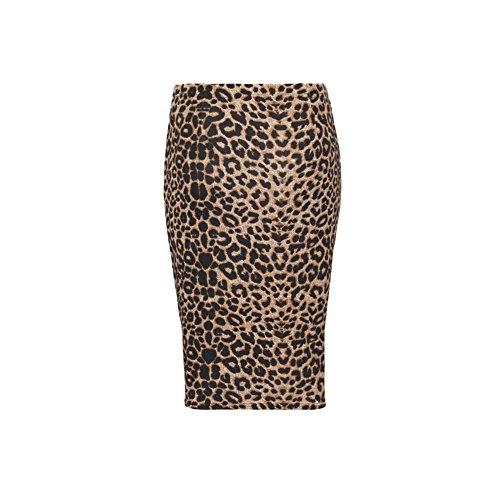 Rewatronics - Falda - Estuche - para mujer Brown Leopard