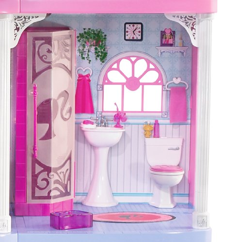 Barbie Pink 3 Story Dream Townhouse Doll Accessories Amazon Canada