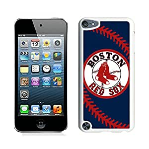 Boston Red Sox White iPod Touch 5 Cellphone Case Custom and Genuine Design