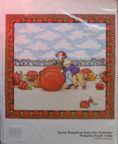Daisy Kingdom Iron On Transfer Pumpkin Patch #6522