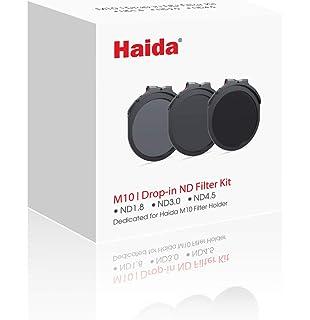 Haida 100mm M10 Kit de soporte del filtro con anillo adaptador 67mm /& Drop-in Polarizador Circular Polarizer