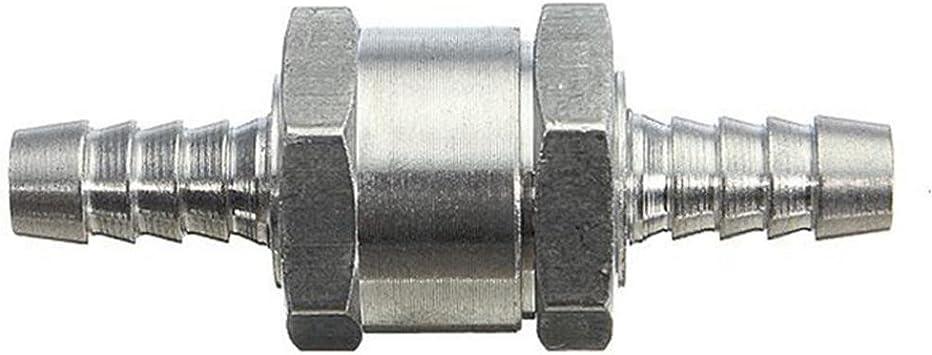 Benzin-Diesel-Kraftstoffpumpe Einweg-Rückschlagventil 6//8//10 //12mm für Auto-Boot