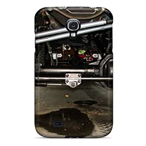 Protective Tpu Case With Fashion Design For Galaxy S4 (ford Truck)