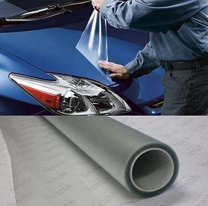 1 Roll Clear Car Door Sill Edge Paint Protection Vinyl Film Sheet Anti Scratch