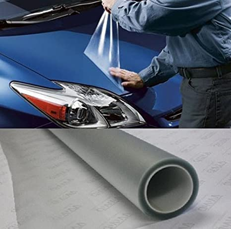 VViViD Clear Door Sill Paint Protection Anti-Scratch Film Vinyl Sheet 60' x 54' (Bulk Roll)