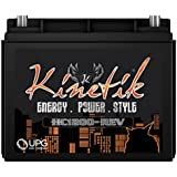 Kinetik HC1200-REV HC REV Series 1200 Watt 12V High Current AGM Car Audio Power Cell - Battery