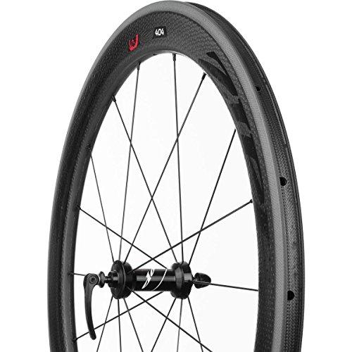 Zipp 404 Firecrest Carbon Clincher Front Wheel 700c V3 Black Decal