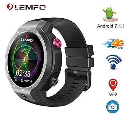 Amazon.com : LEMFO. LEM9 - Dual Systems Smartwatch 4G LTE ...