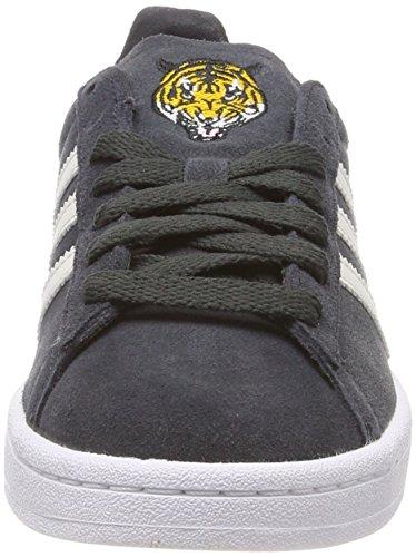 White Adidas Gris footwear Enfant Baskets Mixte Campus talc carbon 8fq8HSWr