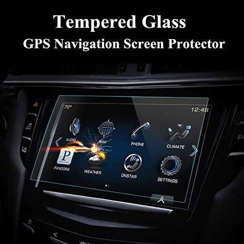 Amazon com: wroadavee Tempered Glass GPS Navigation Screen