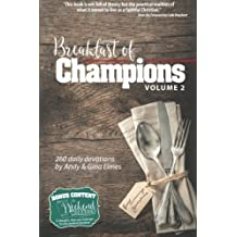 Breakfast of Champions Volume 2: 260 daily devotions, plus 52 Weekend Workouts by Andy Elmes (2016-05-21)