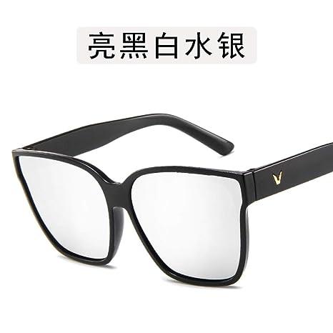 Yangjing-hl Gafas de Sol para Hombres Personalidad de los ...