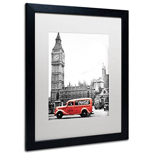Trademark Fine Art COKE04-B1620MF Color Splash Vintage Ph...