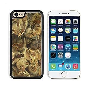 Chicken Chicks Baby Hatchlings Birds Animal 3DCom iPhone 6 Cover Premium Aluminium Design TPU Case Open Ports Customized Made to Order
