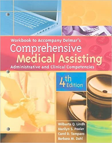Workbook for delmars comprehensive medical assisting workbook for delmars comprehensive medical assisting administrative and clinical competencies 4th 4th edition fandeluxe Gallery