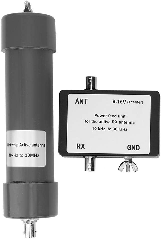 30 MHz Mini Antenna Whip Active Antenna with Portable Cable for Radio Communication 03 10 kHz