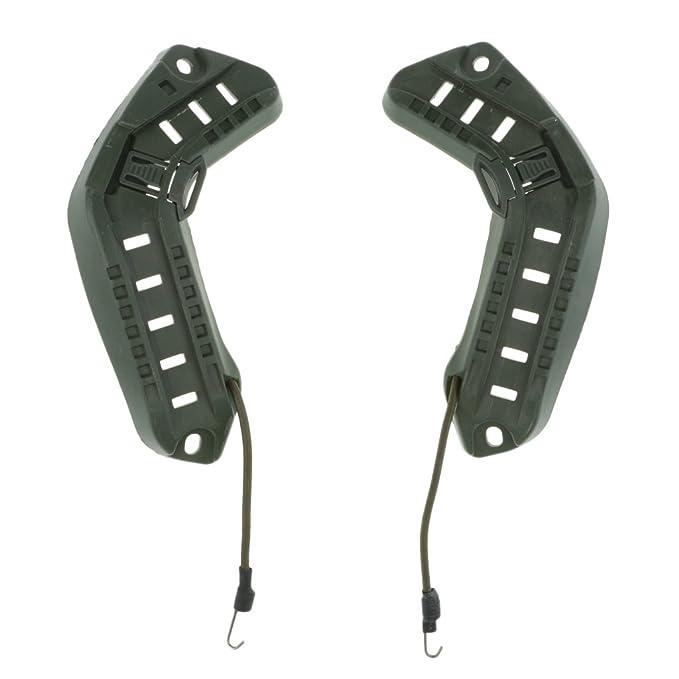 2 Stück Helm Führungsschiene Passend für Fast ARC und Kampfhelme