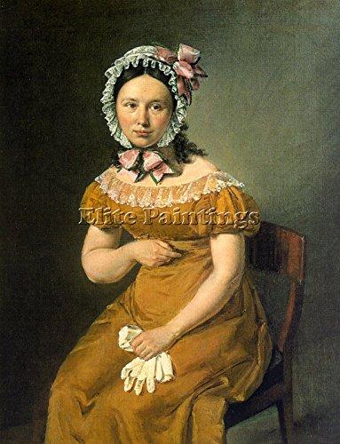 JENSEN CHRISTIAN ALBRECHT DANISH 1792 1870 ARTIST PAINTING OIL CANVAS REPRO DECO 32x24inch by Elite-Paintings