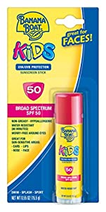 Banana Boat Kids Broad Spectrum SPF 50 Sunscreen Stick, 0.55 Ounce