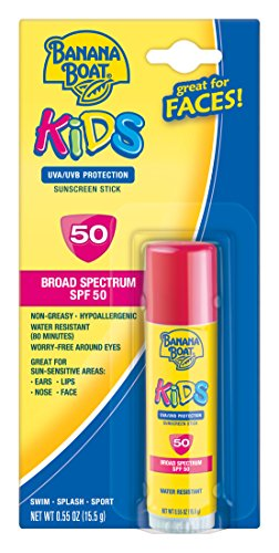 Banana Boat Kids Broad Spectrum SPF 50 Sunscreen Stick, 0.55